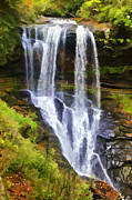 Dry Creek Photos - Dry Falls of North Carolina by David Letts