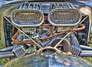 Ron Roberts Photography Photographs Prints - Dual Carbs Print by Ron Roberts
