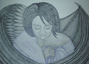 Angel Drawings - Duality by Angel Surber