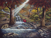 Apple Paintings - Duality by Ricardo Chavez-Mendez