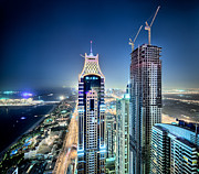 Architektur Metal Prints - Dubai 9350 Metal Print by Steffen Schnur