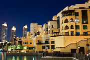 Souk Framed Prints - Dubai architecture Framed Print by Fototrav Print