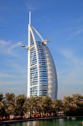 7 Photos - Dubai Burj Al Arab hotel  by Fototrav Print