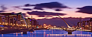 Dublin Prints - Dublin Docklands at Dawn / Dublin Print by Barry O Carroll