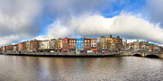 Tisdale Framed Prints - Dublin Ireland Panorama Framed Print by Mark E Tisdale