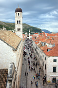 Stone House Framed Prints - Dubrovnik Framed Print by Artur Bogacki