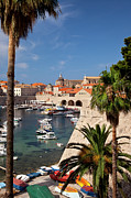 Tile Roof Framed Prints - Dubrovnik Framed Print by Brian Jannsen