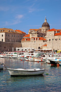 Dubrovnik Photos - Dubrovnik Harbor by Brian Jannsen