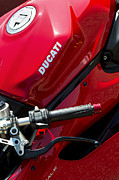 Ducati Red Print by Tim Gainey