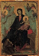 Christ Child Photo Prints - Duccio Di Buoninsegna, Madonna Print by Everett