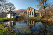 Llangollen Prints - Duck Pond Print by Adrian Evans
