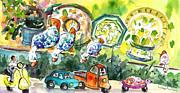 Miki De Goodaboom - Ducks in Taormina Traffic