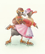 Kestutis Kasparavicius - Ducks on skates 12