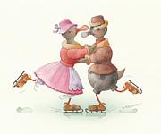 Kestutis Kasparavicius - Ducks on skates 13