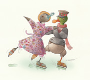 Kestutis Kasparavicius - Ducks on skates 16