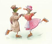 Kestutis Kasparavicius - Ducks on skates 17
