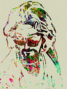 Famous Mixed Media Metal Prints - Dude Metal Print by Irina  March