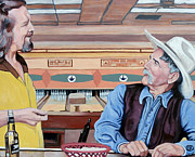 Lebowski Paintings - Dude Youve Got Style by Tom Roderick