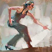 Dance Shoes Prints - DUENDE.. two Print by Renata Domagalska
