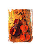 Violin Digital Art - Duet by Roger Winkler