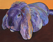 Whimsical Animals  Art - Duffy by Pat Saunders-White