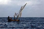 James Brunker - Dugout Sailing Canoe San Blas Islands Panama