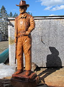 Western Art Sculptures - Duke-4 by Dwayne  Davis