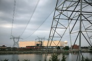 Mecklenburg County Photos - Duke Energy Mcguire Nuclear Energy Station by Robert Loe