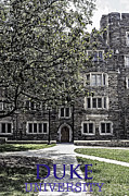 Duke Metal Prints - Duke University Metal Print by Madeline Ellis