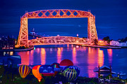 Duluth Art - Duluth Aerial Lift Bridge by Bradley Gross
