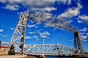 Duluth Art - Duluth Lift Bridge 2 by Todd and candice Dailey