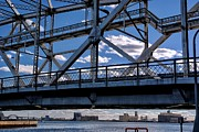 Register Mixed Media Framed Prints - Duluth Lift Bridge 4 Framed Print by Todd and candice Dailey