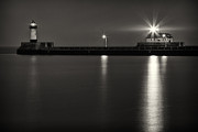 Duluth Art - Duluth Pier Lighthouse by TB Sojka