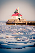 Duluth Posters - Duluth South Breakwater Outer Light Poster by Shutter Happens Photography