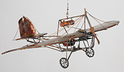 Early Sculpture Originals - Dumont Airplane by Kevin B Willson