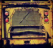 Dump Truck Grille Print by Amy Cicconi