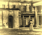 Dundurn Castle Photos - Dundurn Castles Ghost by Larry Simanzik