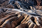 Southwest Landscape Metal Prints - Dune Dimensions in Death Valley Metal Print by John Rizzuto
