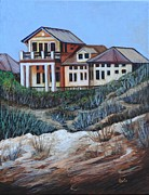 St. Augustine Paintings - Duneside by Eve  Wheeler