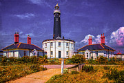 Coastguard Photo Framed Prints - Dungeness Old Lighthouse Framed Print by Chris Lord