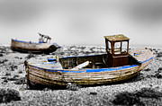Tilt Shift Prints - Dungeness One Print by Mark Rogan