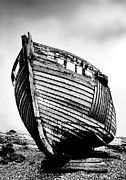 Fishing Boat Prints - Dungeness Three Print by Mark Rogan