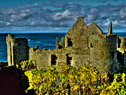 Normans Framed Prints - Dunluce Framed Print by Nina Ficur Feenan