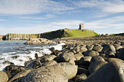 Embleton Prints - Dunstanburgh Castle from north Print by David Head