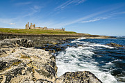 Embleton Prints - Dunstanburgh Castle from south Print by David Head