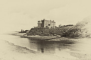 Skye Photos - Dunvegan Castle by Chris Thaxter