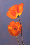 Print On Canvas Pastels Prints - Duo Print by Dana Kern