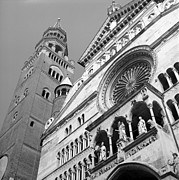 Cathedral Of The Assumption Prints - Duomo di Cremona e Torrazzo Print by Riccardo Mottola
