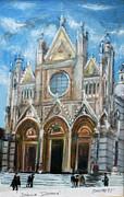 Duomo Sienna Print by Tom Smith