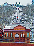 Duquesne Incline Posters - Duquesne Incline Poster by Mark Dottle